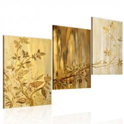 Håndmalet billede - Golden...