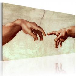 Håndmalet billede -...