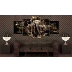 Billede - Brown Elephants...