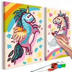 DIY lærred maleri - Chubby...