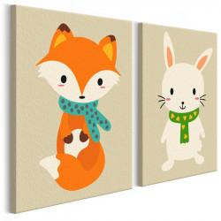 DIY lærred maleri - Fox &...