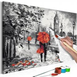 DIY lærred maleri - From...