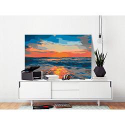 DIY lærred maleri - At Sea