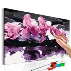 DIY lærred maleri - Purple...