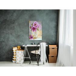 DIY lærred maleri - Flowers...