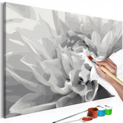 DIY lærred maleri - Black &...