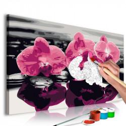 DIY lærred maleri - Three...