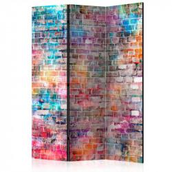 Skærmvæg - Colourful Brick...