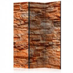 Skærmvæg - Orange Stone...