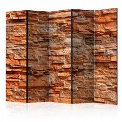 Skærmvæg - Orange Stone II...
