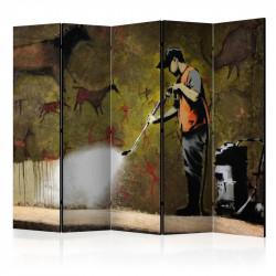 Skærmvæg - Banksy - Cave...