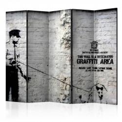 Skærmvæg - Banksy -...