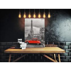 DIY lærred maleri - Car in...