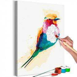 DIY lærred maleri - Exotic...