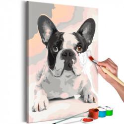 DIY lærred maleri - French...
