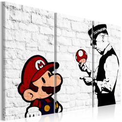 Billede - Mario Bros (Banksy)