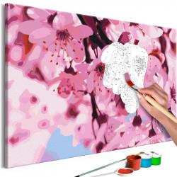 DIY lærred maleri - Lily...