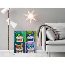 DIY lærred maleri - Cats...