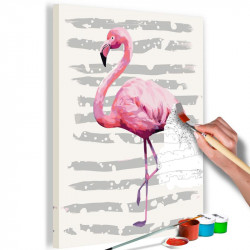DIY lærred maleri -...