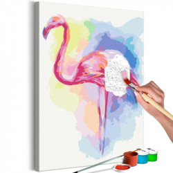 DIY lærred maleri - Perfect...