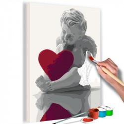 DIY lærred maleri - Angel...