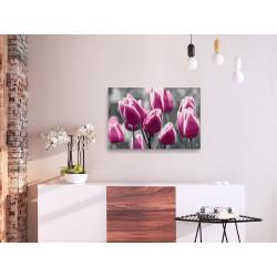 DIY lærred maleri - Tulip...