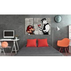 Billede - Banksy: Mario Bros