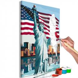DIY lærred maleri - Proud...
