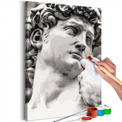 DIY lærred maleri - Sculpture