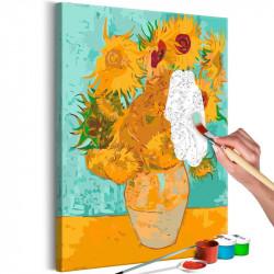 DIY lærred maleri - Van...
