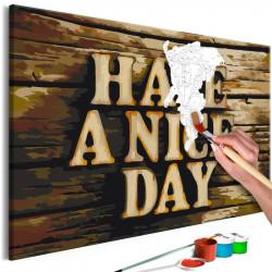 DIY lærred maleri - Have a...