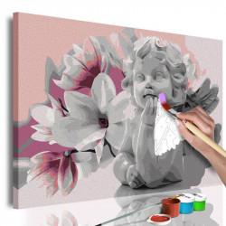 DIY lærred maleri - Angel's...