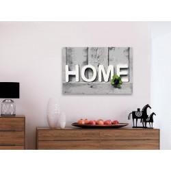 DIY lærred maleri - Home