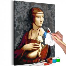 DIY lærred maleri - Famous...