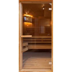 Fototapet til døren - Sauna