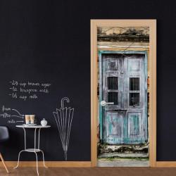Fototapet til døren - Old Door
