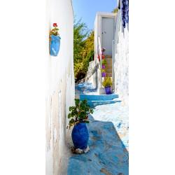 Fototapet til døren - Blue...