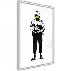 Plakat - Banksy: Smiling...