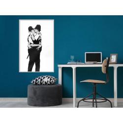 Plakat - Banksy: Kissing...