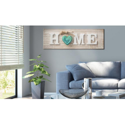 Billede - Home: Blue