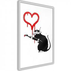 Plakat - Banksy: Love Rat