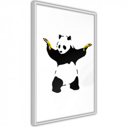 Plakat - Banksy: Panda With...