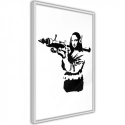 Plakat - Banksy: Mona Lisa...
