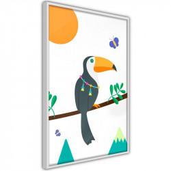 Plakat - Fairy-Tale Toucan