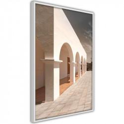 Plakat - Sunny Colonnade
