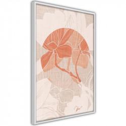 Plakat - Flowers on Fabric