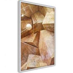 Plakat - Cubic Rocks