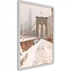 Plakat - Winter in New York