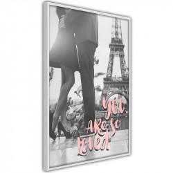 Plakat - Love in Paris