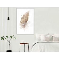 Plakat - Lost Feather (Beige)